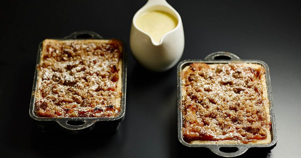 peach pie crumble recipe og