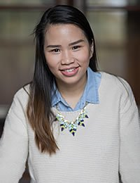 Trang Phan, CIA culinary arts associate degree student.