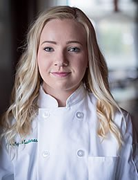 image of Ashley Madaras, a CIA culinary arts associate degree student