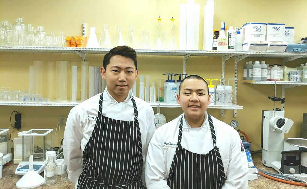 Photo of CIA culinary science bloggers, Jerry and Brian