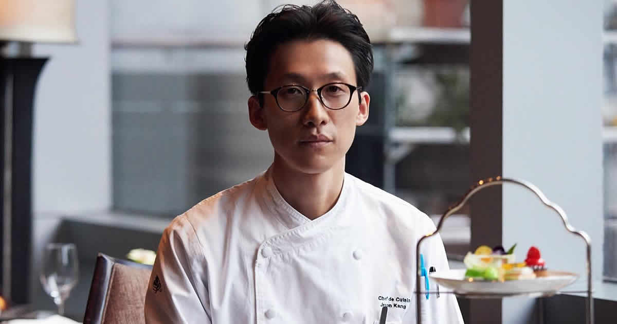 Photo of Jason Jonggun Kang CIA culinary arts alumni