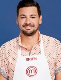 Photo of Master Chef contestant, CIA student Brien O'Brien
