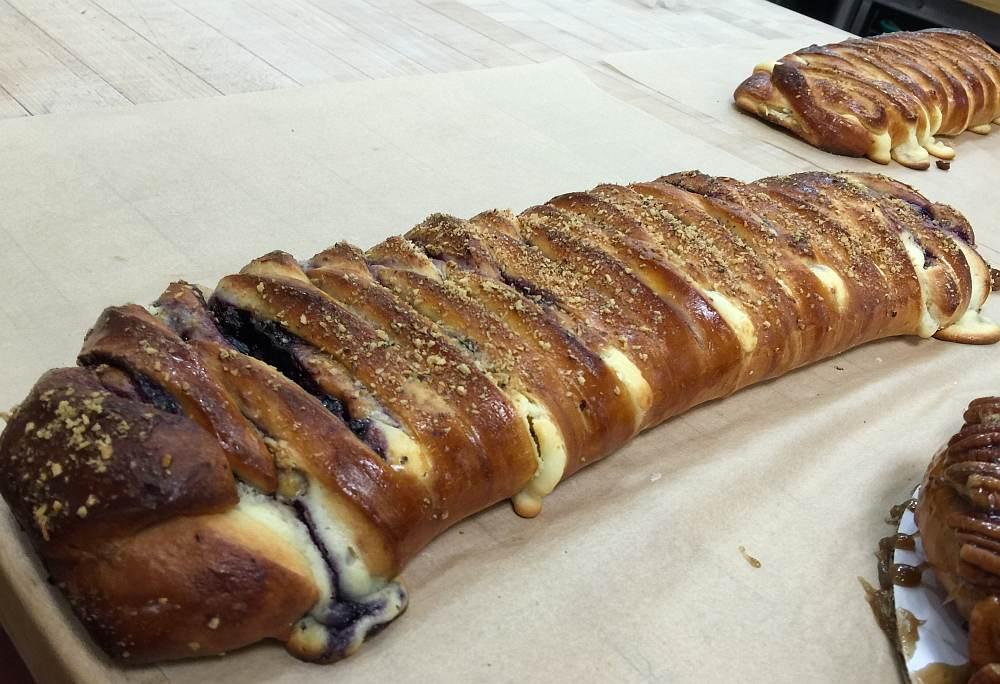 baking through cia braided coffee cake Image
