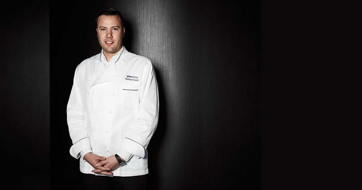 Image of Chef Matthew Farrell, CIA culinary arts graduate