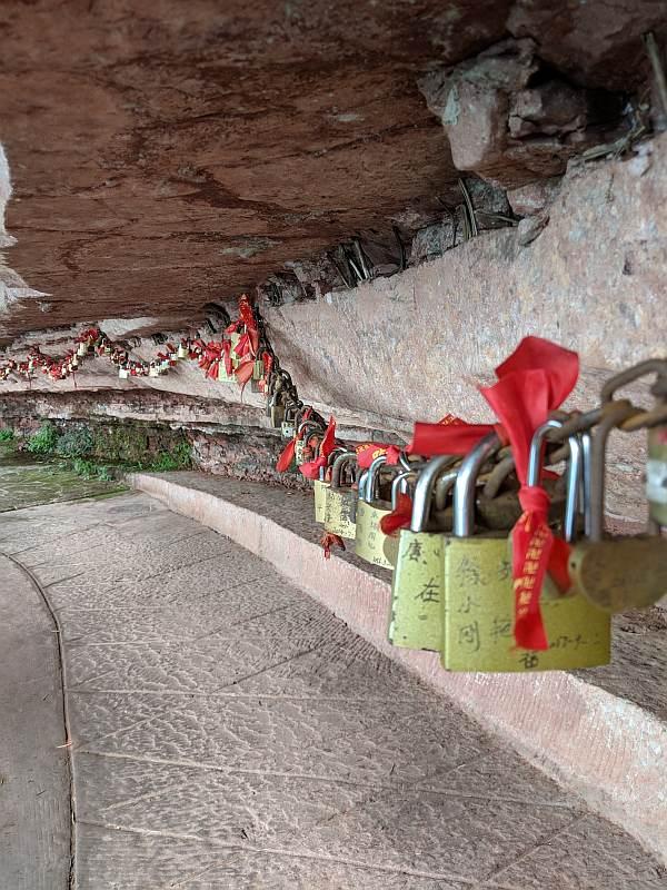 china trip great bamboo sea buddhist shrine image