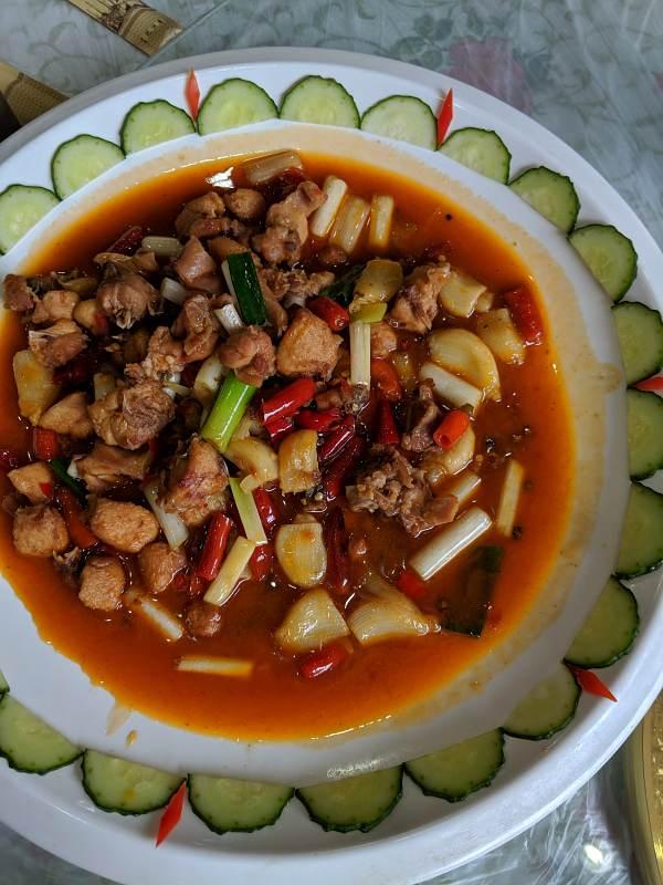 china trip great bamboo sea rat dish image