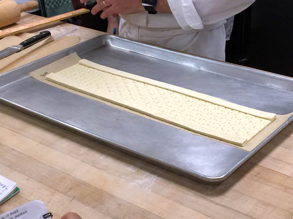 baking through cia puff pastry croissants 1 image