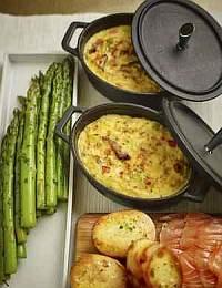 Spring Leek Frittata Recipe
