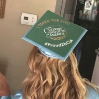 Photo of Ashley's 2018 hat topper entry