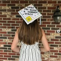 Photo image of Emily G's high school graduation cap topper