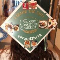 Photo image of Pippy's high school graduation cap topper