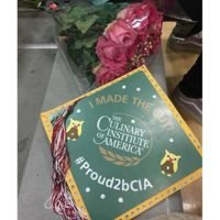 Photo image of Samantha R's high school graduation cap topper
