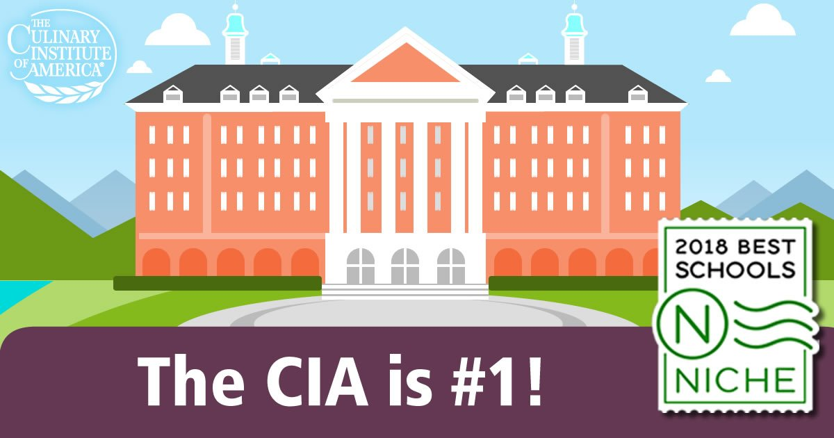 Niche Released Its Annual List Of The Best Colleges In America And Cia Is Ranked 1 For Culinary Arts