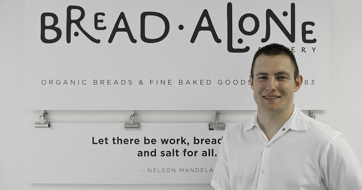 Photo of CIA alum, Jason Tucker who works at Bread Alone