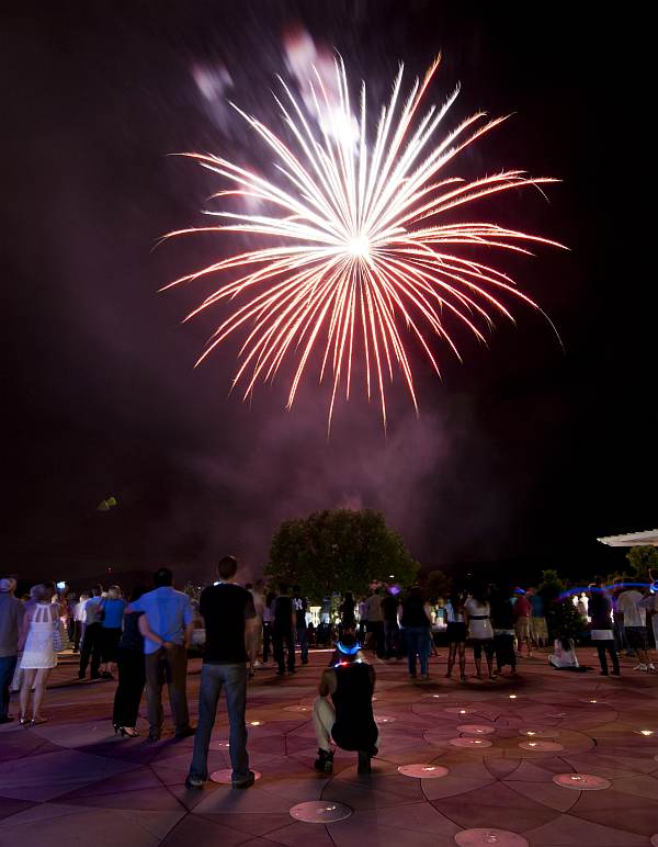Stars and Stripes Weekend at the CIA fireworks image