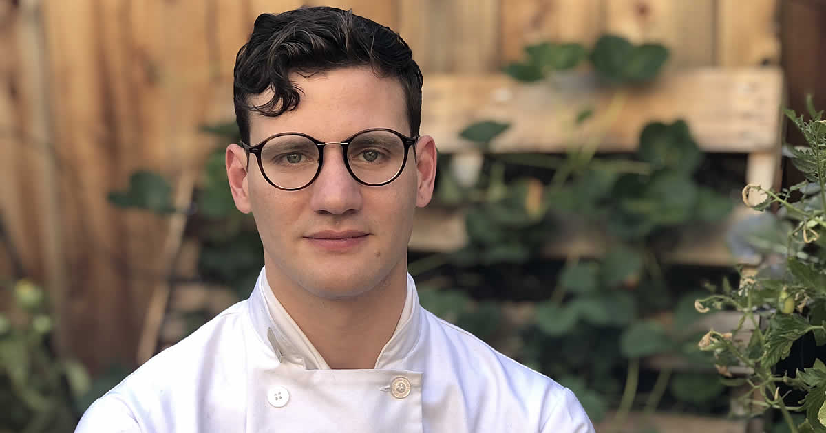 Photo of CIA culinary arts student, Tyler Harper
