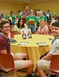 """Joy and Purpose"" My Experience as an Orientation Leader"
