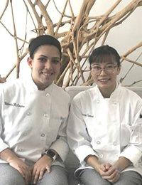 Photo of CIA's food dream scholarship winners