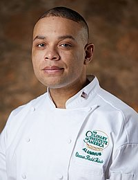 Photo of Channon Thiede, ACAP culinary arts student at CIA's CA campus