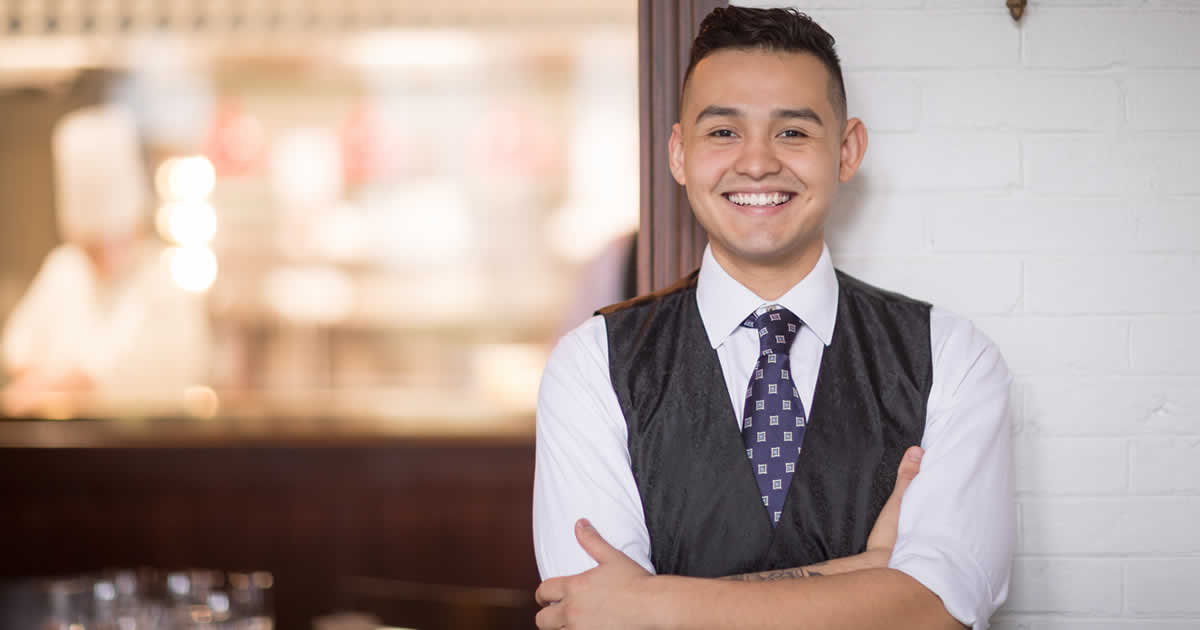 Image of Lian Pineda, culinary arts student at the Culinary Institute of America.