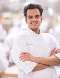 Image of CIA baking student, Rishabh Aggarwal
