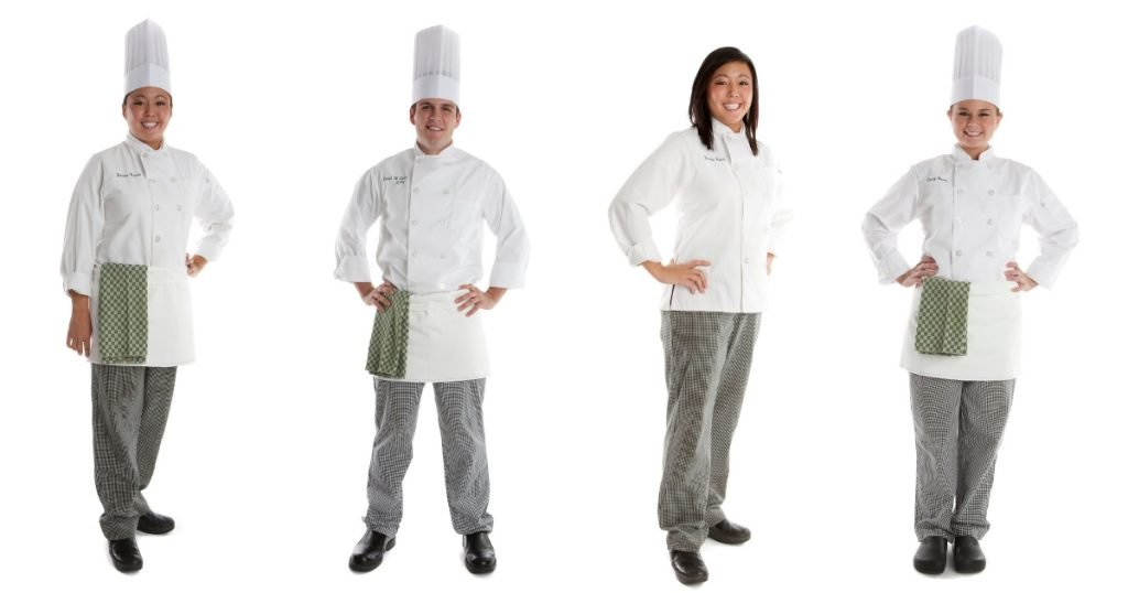 history of the chef's uniform