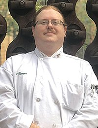 Photo of Christopher Harper, CIA culinary arts student and US veteran
