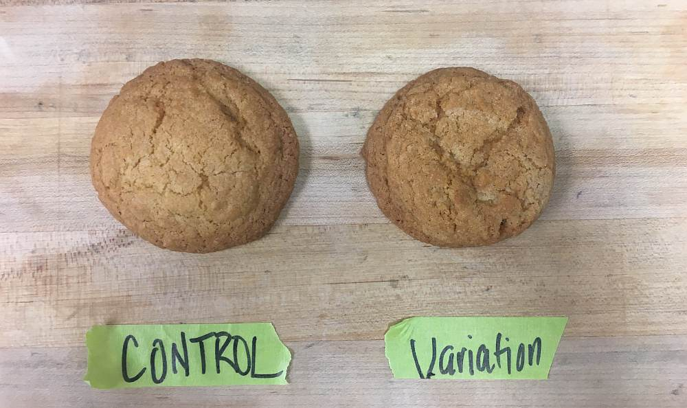 stories from the lab - cookies test results image