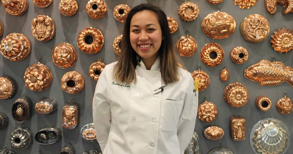 Photo of CIA culinary arts student, Kathleen Luu.