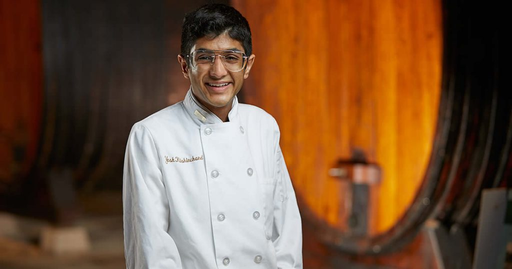 Image of Yash Kishinchand, CIA baking and pastry student