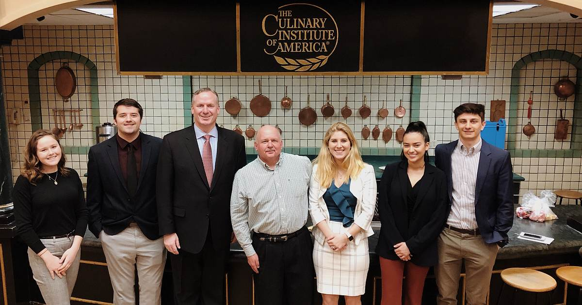 CIA Hospitality Management Club Welcomes Chevy Chase Club