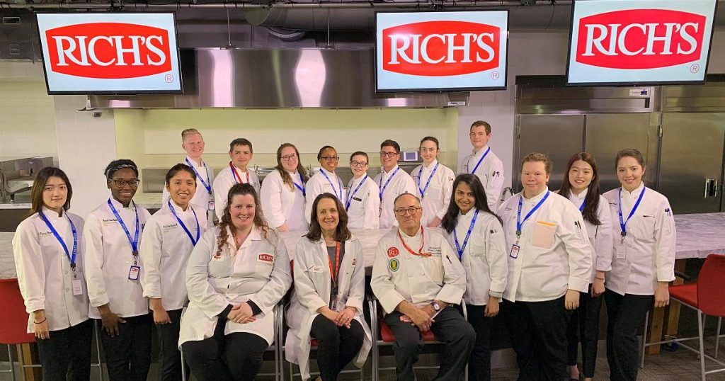 culinary science students richs trip image