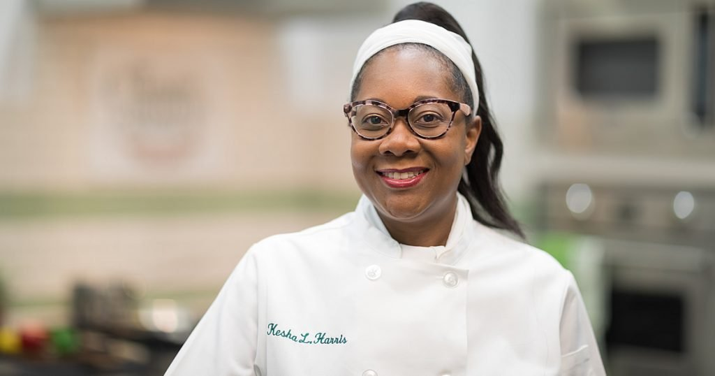 photo of Kesha Harris, CIA culinary arts student