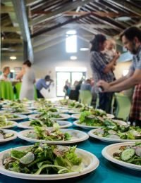 A Farm-to-Table Brunch for the 20th Anniversary of Poughkeepsie Farm Project