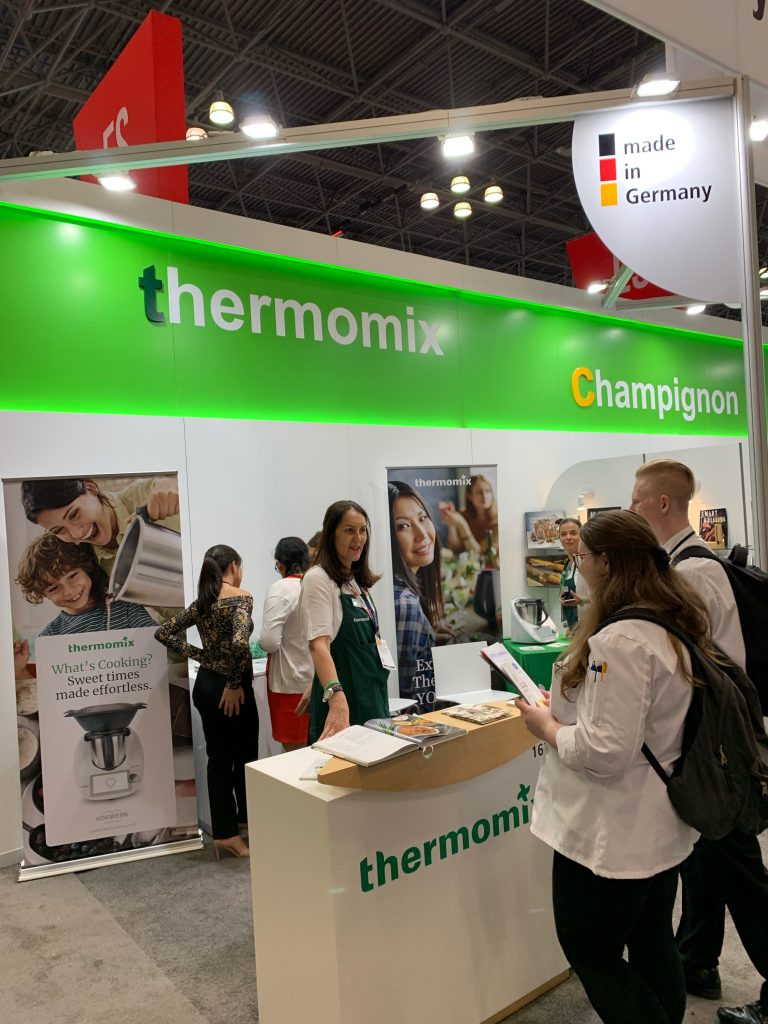 CIA Students at the Thermomix Booth