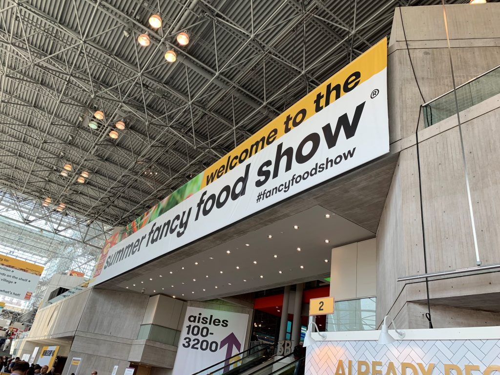 Show Floor of the Summer Fancy Food Show