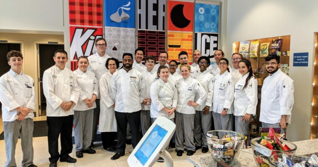 CIA Culinary Science Students visiting the Hershey's Chocolate Factory in Pennsylvania