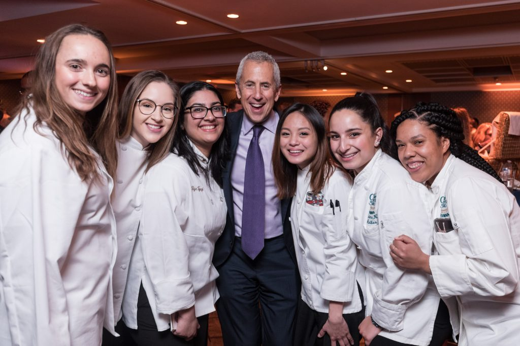 The Culinary Institute of America's 2019 Leadership Awards, 'Masters of Hospitality', held at The Ziegfeld Ballroom in New York City with Danny Meyer