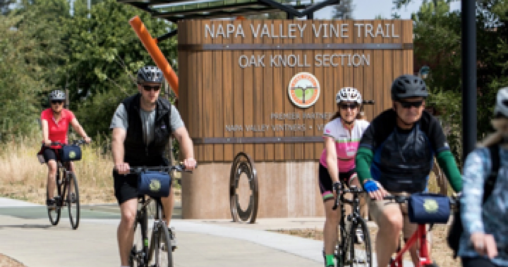 Saddle Up and Bike the Napa Valley Vine Trail