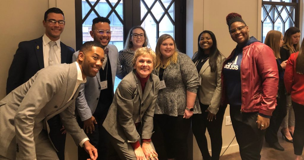 Networking in NYC: Hospitality Student Leaders