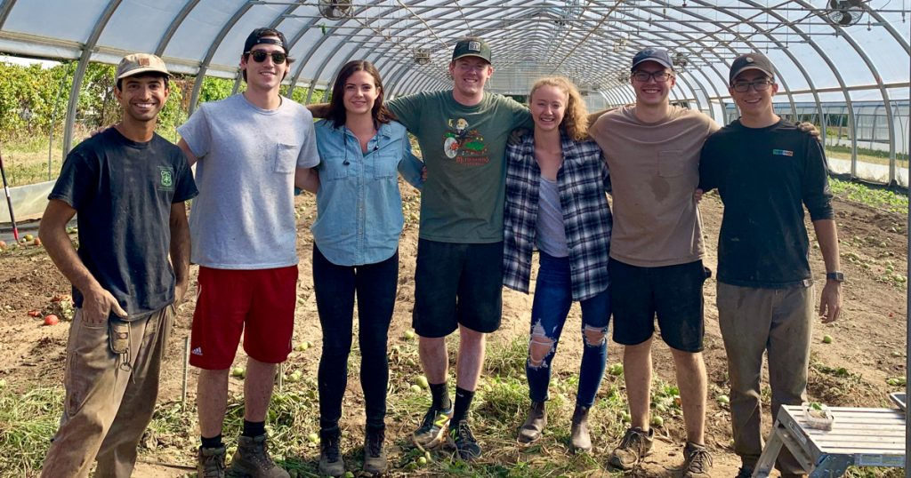 Classes take multiple trips to local farms